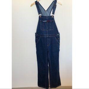 Vintage 90s Tommy Girl Overalls Denim Hilfiger M